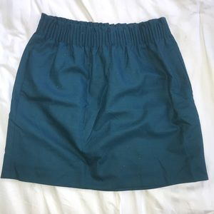 Teal skirt from JCrew